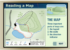 reading a map1