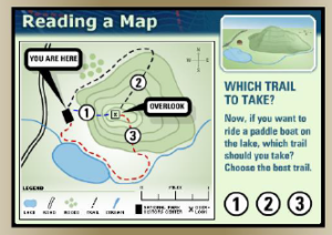 reading a map3