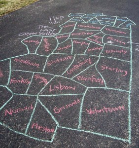 35 towns hopscotch